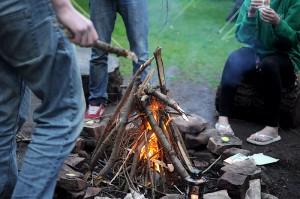 wild-camp-fire